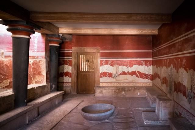 Palazzo di Cnosso - Sala del Trono