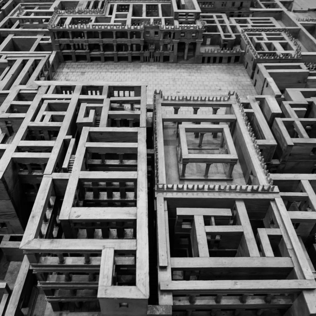 Modellino del palazzo di Cnosso