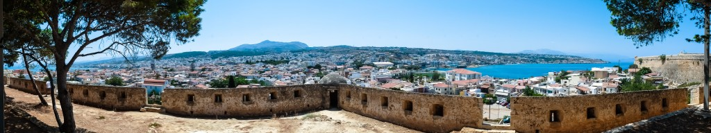 Fortezza veneziana a Rethymno
