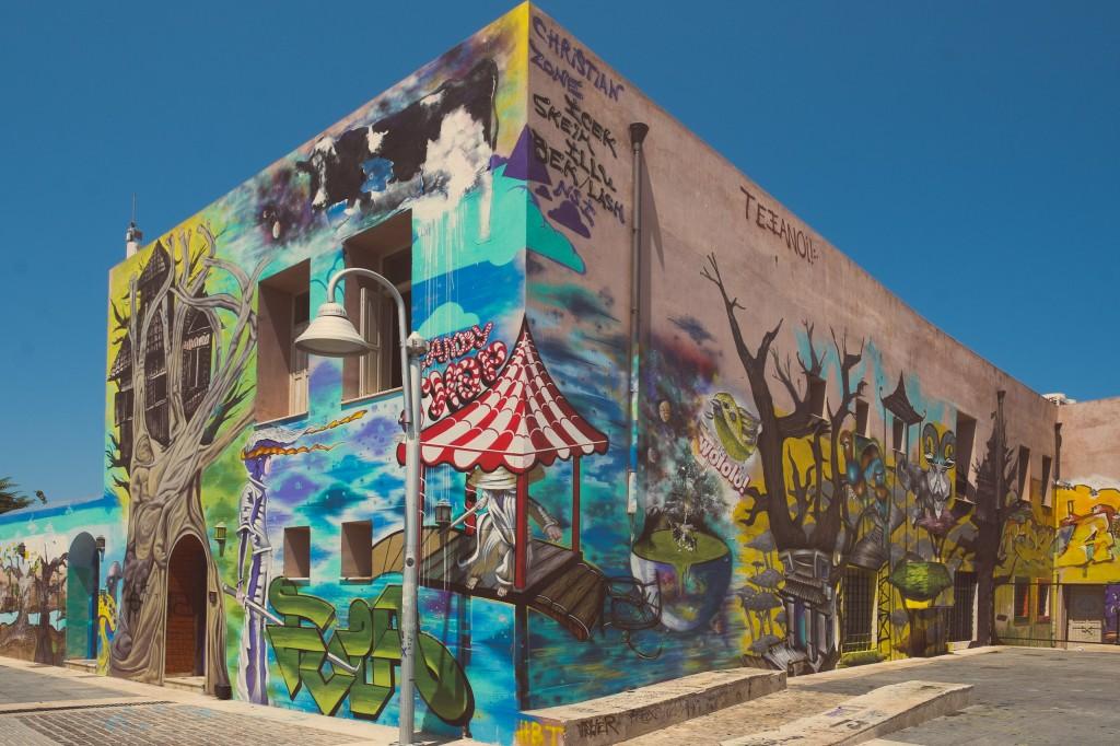 Graffiti a Rethymno